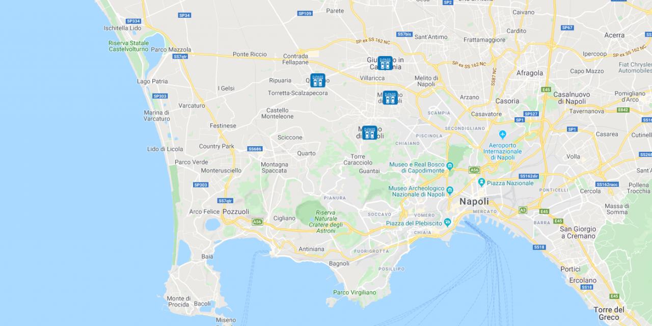 D-Pass è disponibile per i Comuni di Mugnano di Napoli e Giugliano in Campania