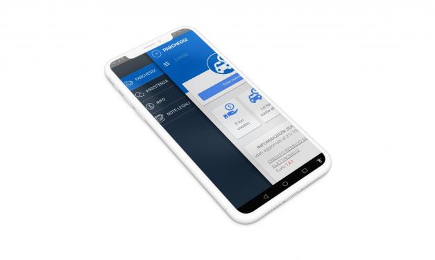 """App per il pagamento parcheggi, nuovo layout e assistenza """"Whatsapp"""""""