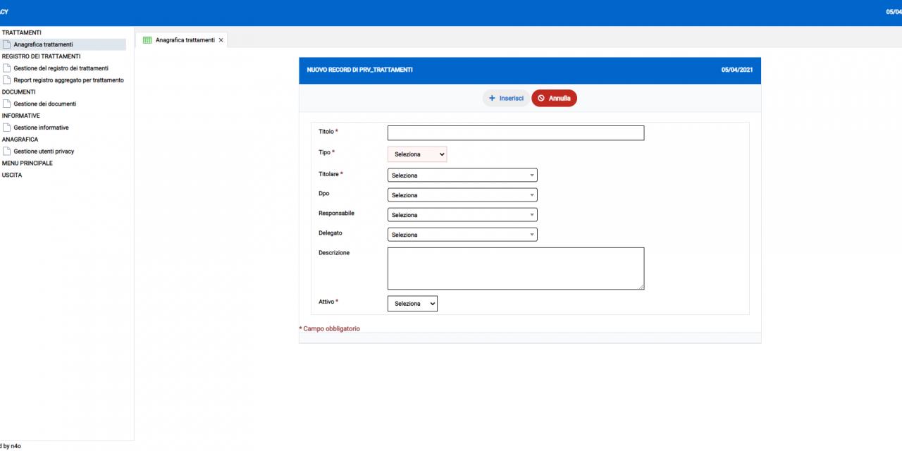 Il modulo di Mobility App per la gestione di tutti gli adempimenti sulla privacy
